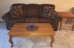 Lazyboy sofa and tables in Westmont, Illinois