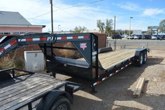 2016 PJ 24' Goose-neck Equipment/Car Hauler in Alamogordo, New Mexico