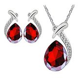 ***BEAUTIFUL Red Pendant & Earring Set***BRAND NEW in Cleveland, Texas