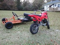 go kart 390 and dirt bike 290 obo in Cherry Point, North Carolina