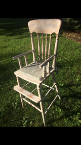 Antique High Chair in St. Charles, Illinois