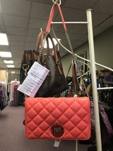 Like-New Kate Spade Quilted Coral Purse in Camp Lejeune, North Carolina