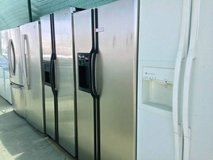 Side by Side Refrigerator Units Available in Camp Pendleton, California