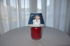 Snowman Jar Yankee Candle Shade - Ceramic in Cherry Point, North Carolina