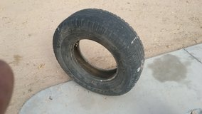 ISO One 9.50/16.5 tire & One 245/75 R16 Tire in 29 Palms, California