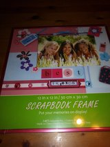 Scrapbook page frame in The Woodlands, Texas