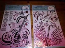 Guitar decals in The Woodlands, Texas