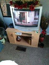 TV with stand in Fort Campbell, Kentucky