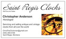 Antique/Vintage Clock Repair and Service in Travis AFB, California