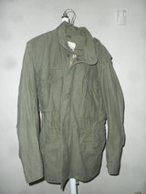 3 military field jackets cold weather in Fort Irwin, California