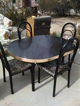 Dining Table with 4 Chairs in 29 Palms, California