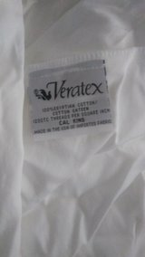Open Box White 1200TC Egyptian Cotton 1 - Cal.King Fitted Sheet in Lake Worth, Texas