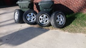 Set Of Nissan 16 Inch Rims And Tires! in Warner Robins, Georgia