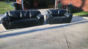 Black Couch Set! in Warner Robins, Georgia