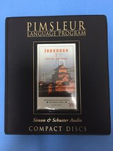 Pimsleur Japanese 1 16 discs in Okinawa, Japan