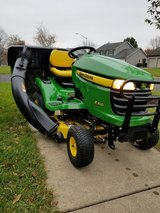 John Deer X300. With Bagger attachment. in New Lenox, Illinois