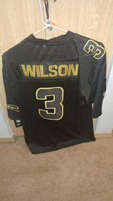 RUSSELL WILSON Stitched Nike NFL Adult XL & Large (Grey, Blue, White, Black & Rush Green) in Fort Lewis, Washington
