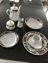 Christmas dishes for 8 (45 Piece) in Joliet, Illinois
