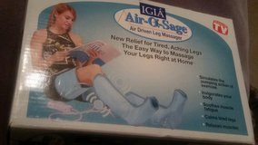 IGIA Air-O-Sage Leg and Thigh Massager in Fort Leonard Wood, Missouri
