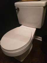 Toto Cream Toilet in Oswego, Illinois
