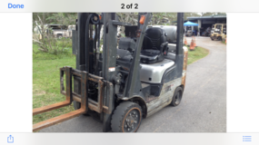 2006 Nissan Model 50 forklift in Pasadena, Texas