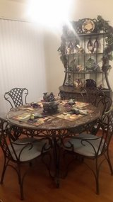 Dining Table, Chairs, and Matching Baker's Rack in Fort Belvoir, Virginia