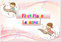First Piano Lessons! in Okinawa, Japan