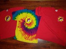 3 Buc-ee's t-shirts in Spring, Texas