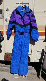 Edelweiss blue & purple ski suit Men's small in Alamogordo, New Mexico