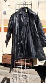 Long leather jacket in Alamogordo, New Mexico