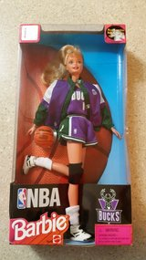 Milwaukee Bucks Barbie. in Bartlett, Illinois