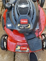 Toro 6.75 hp Mower PCSing in Ramstein, Germany