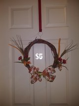 Small fall wreath #2 in Warner Robins, Georgia