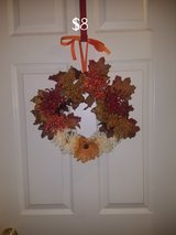 Small fall wreath #5 in Warner Robins, Georgia
