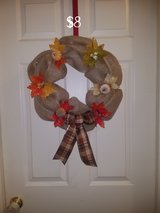 Fall wreath #3 in Warner Robins, Georgia