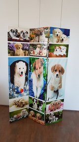Brand New Room Dividers Puppies - Standing Screen Panels NEW in Aviano, IT