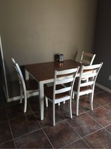 Dinning Room Table W/Four Chairs Need Gone ASAP in Cherry Point, North Carolina