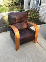 Leather recliner in St. Charles, Illinois