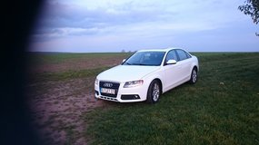 2010 Pearl White AUDI A4 in Ramstein, Germany