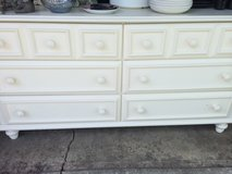Large white Lea dresser in Plainfield, Illinois