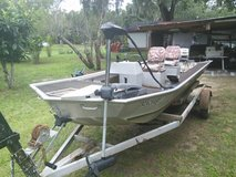 Fisher Aluminum w/30hp Johnson Motor in Beaufort, South Carolina