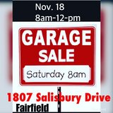 garage sale today Nov 18 in Travis AFB, California