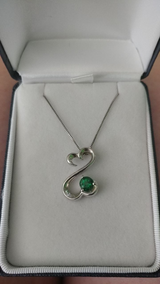 Open Heart Sterling Silver Necklace in Fort Campbell, Kentucky