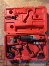 Milwaukee cordless set in Sandwich, Illinois