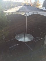 Patio Table w/ Umbrella in Ramstein, Germany