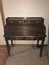 Ethan Allen Roll top desk in Yorkville, Illinois