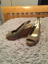 Jessica Simpson Tan Wedges *New* size 10 in Travis AFB, California