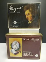 NEW! Mozart Playing/Bridge Cards in Bartlett, Illinois