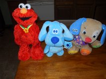 Elmo, Blue, and FisherPrice body parts interactives in Fort Leonard Wood, Missouri
