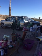 yard sale happening now in 29 Palms, California